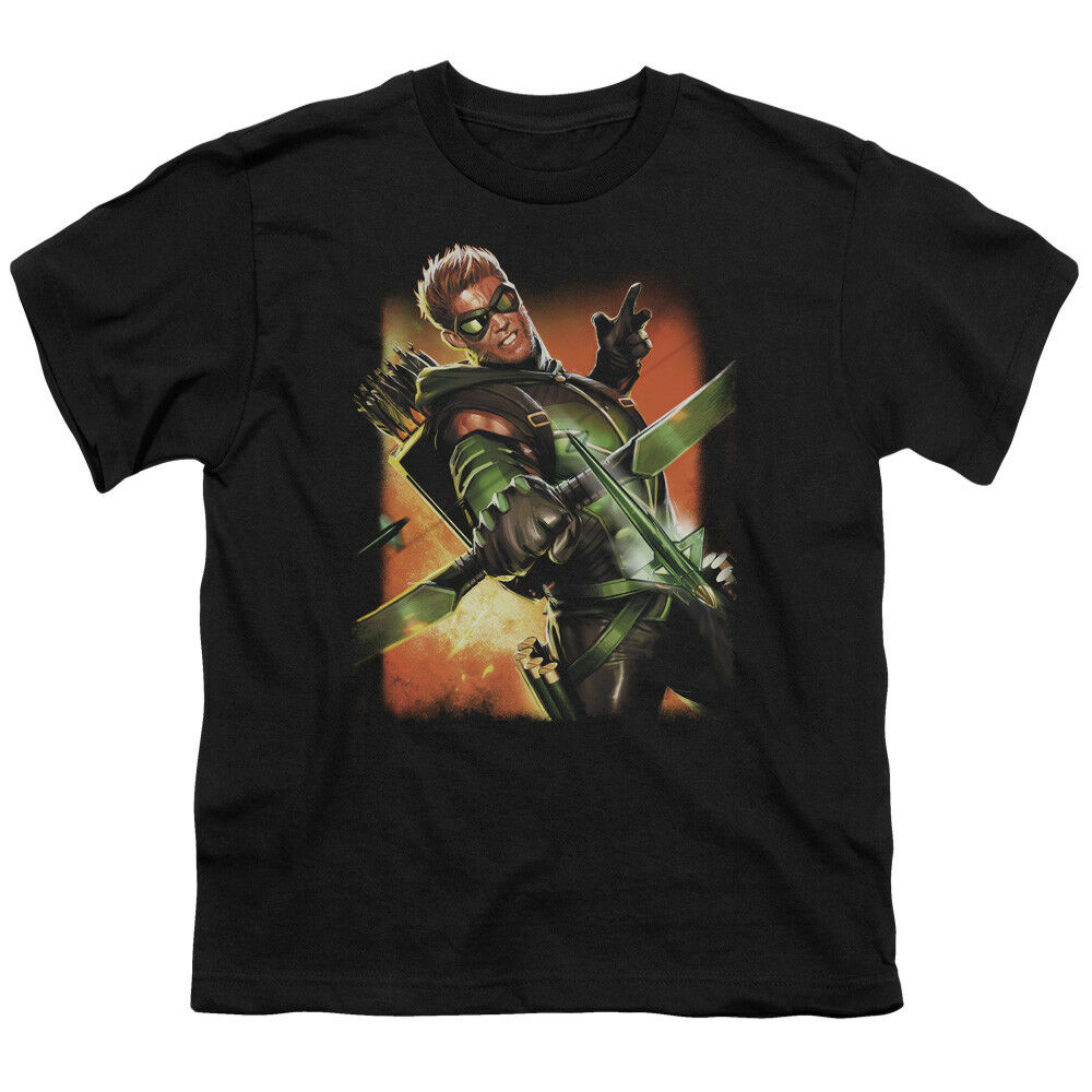 Justice League Dc Comics Green Arrow 1 Big Boys T Shirt