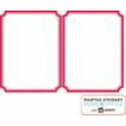 Martha Stewart Home Office Avery Dry Erase Decals Red Border 8 Count Model 21578