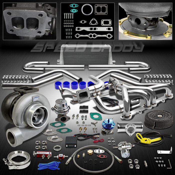 Chevy Turbo Kits : Gt pc t turbo kit manifold intercooler chevy small
