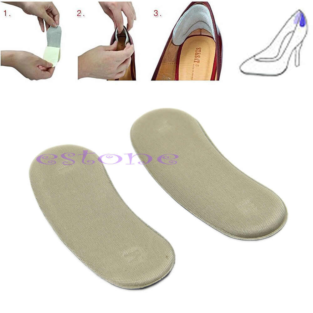 5 pairs shoe back heel inserts insoles pads cushion liner