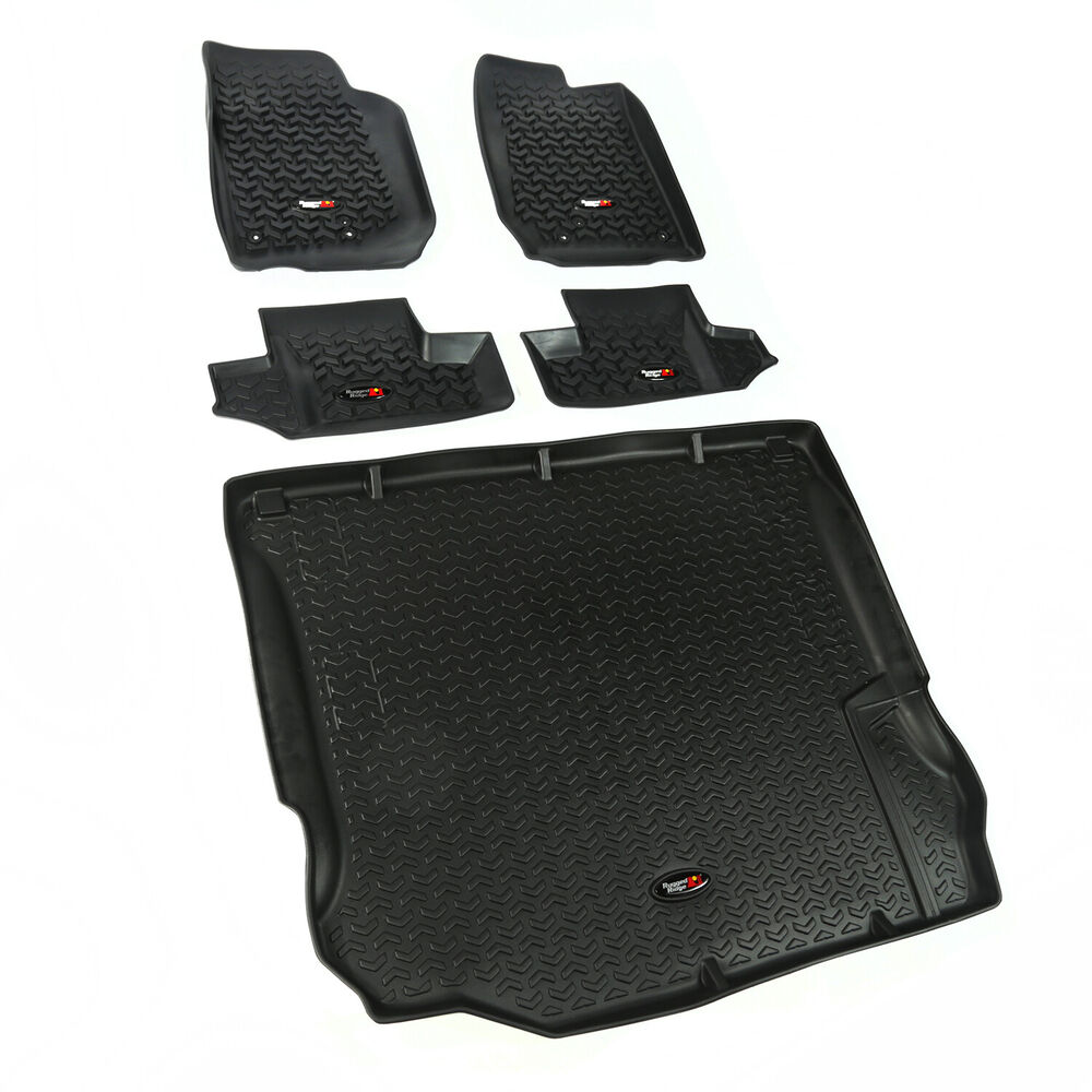 Jeep Wrangler JK Floor Mat Liner Kit 2011-2017 2 Door
