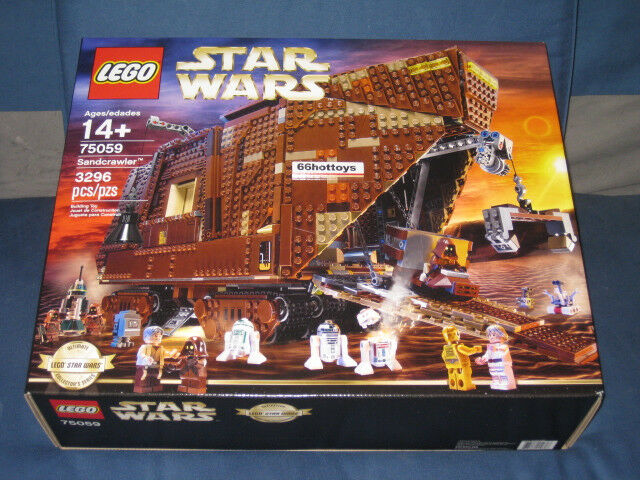 lego star wars 75059 sandcrawler lego 75059 new 673419210607 ebay. Black Bedroom Furniture Sets. Home Design Ideas