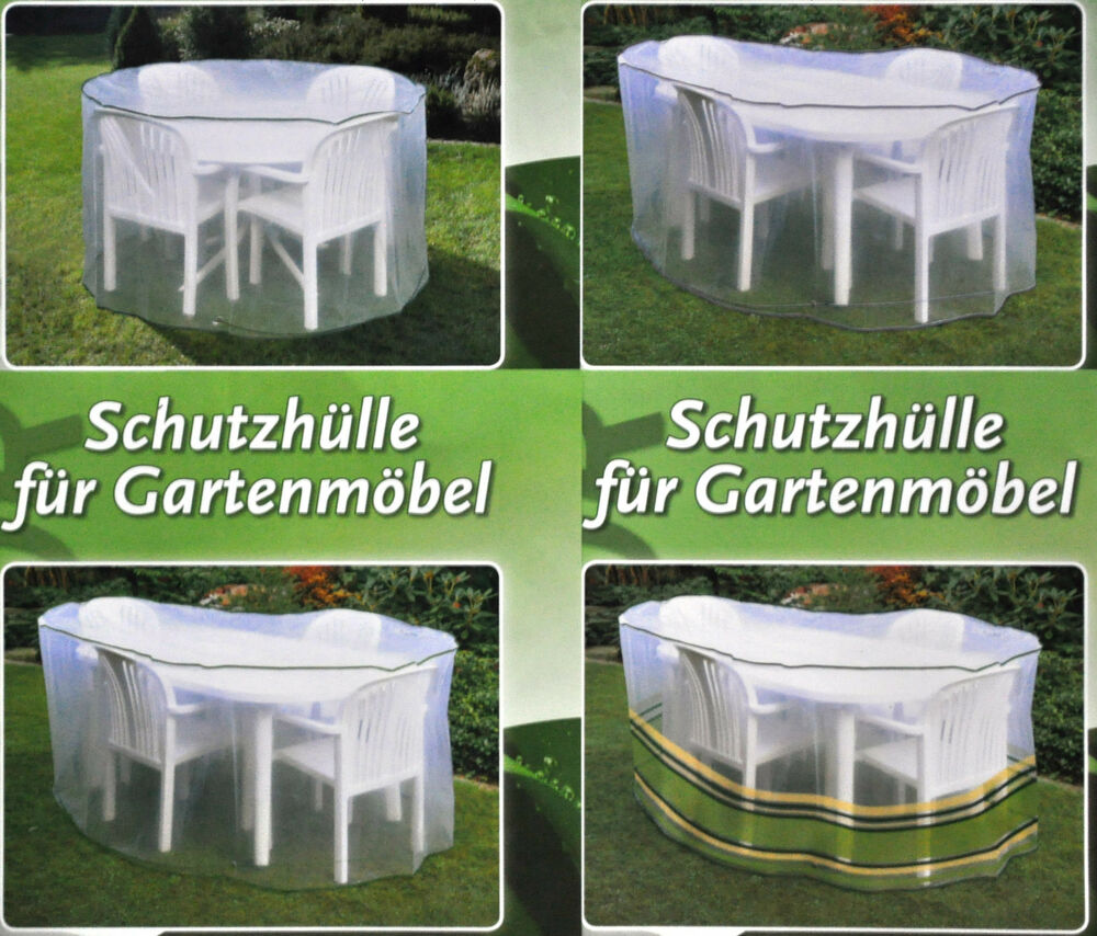 schutzh lle f r gartenm bel abdeckhaube plane abdeckplane schutzhaube neu ebay. Black Bedroom Furniture Sets. Home Design Ideas