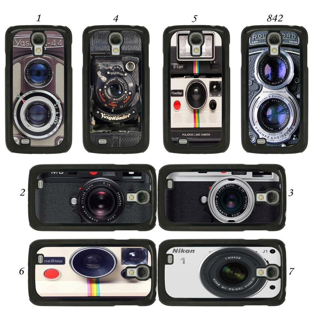 vintage retro camera cover case for all samsung galaxy mobile phones ebay. Black Bedroom Furniture Sets. Home Design Ideas