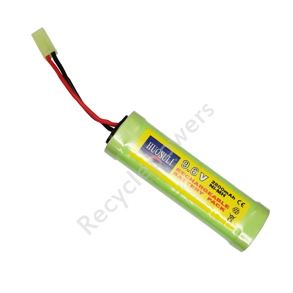 9 6v nimh 2800mah 8 cells super power rechargeable battery pack for rc cell ebay. Black Bedroom Furniture Sets. Home Design Ideas