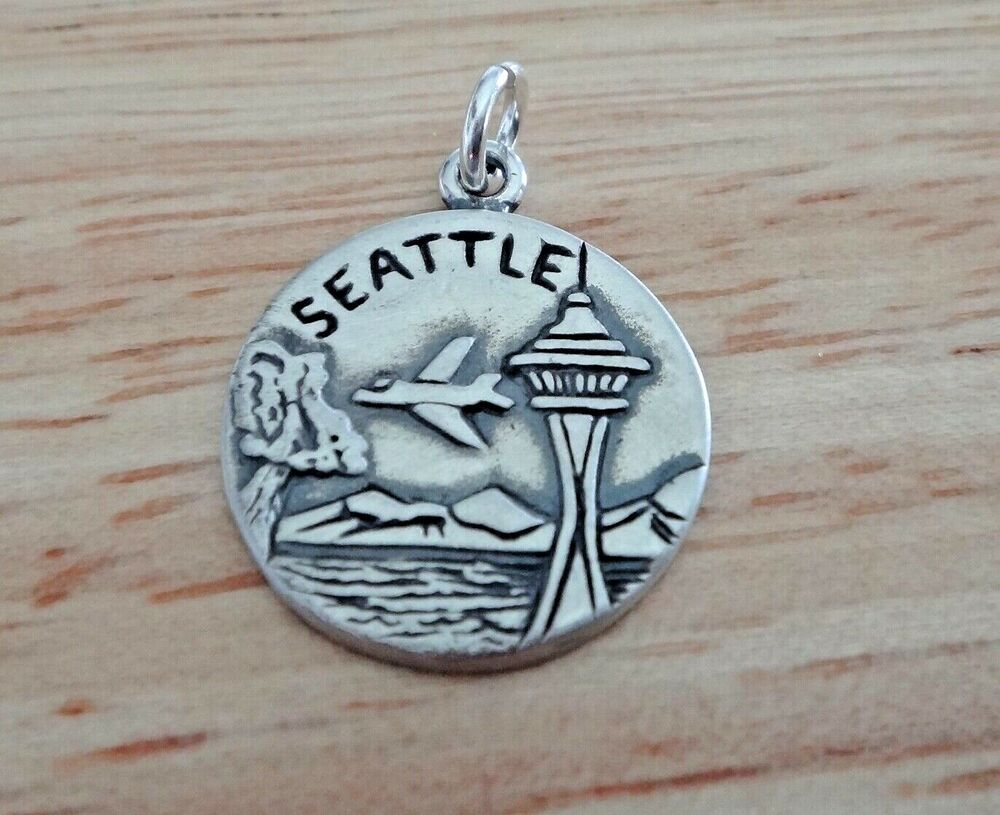1 sterling silver 16mm seattle city of goodwill space for Sell gold jewelry seattle