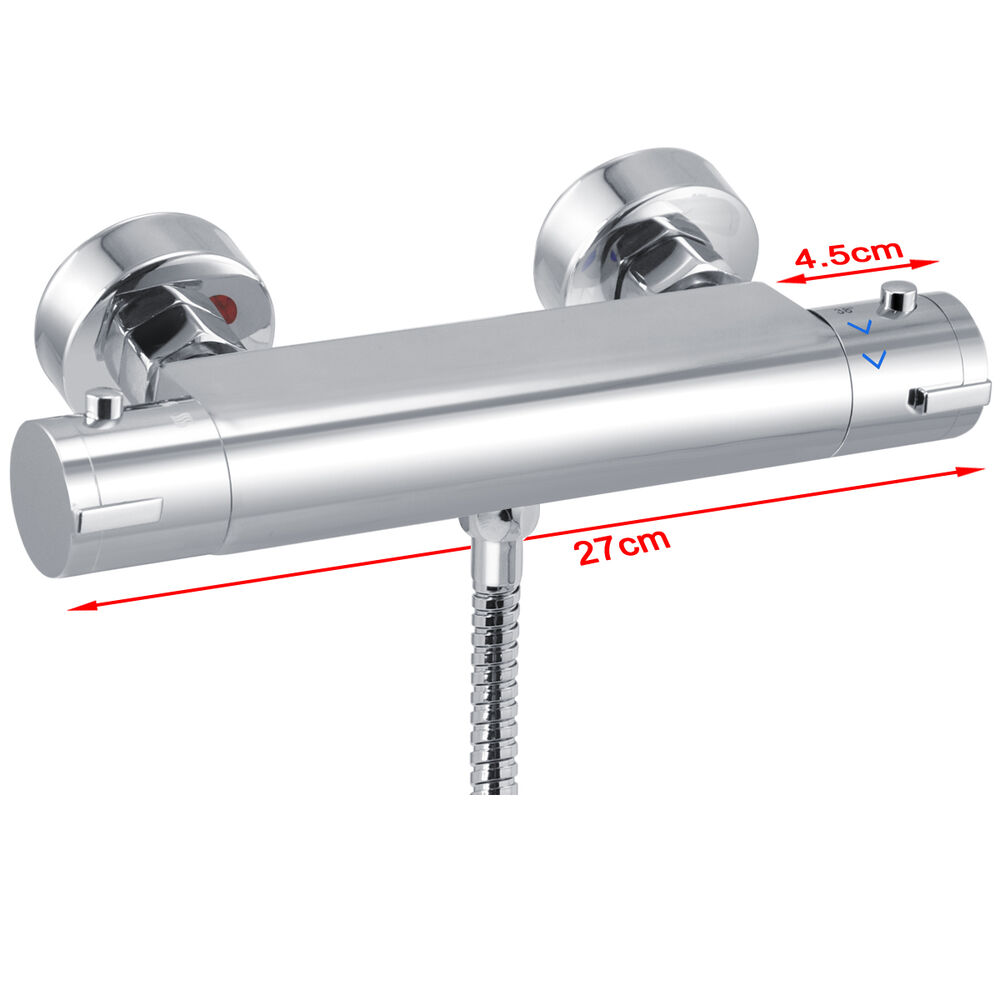 High Quality Shower Bar Thermostatic Chrome Mixer Tap