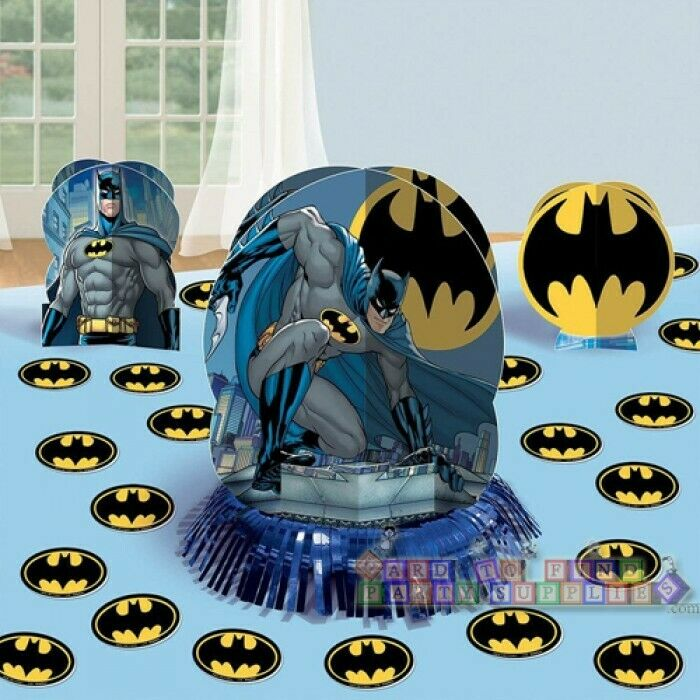 Batman table decorating kit pc birthday party