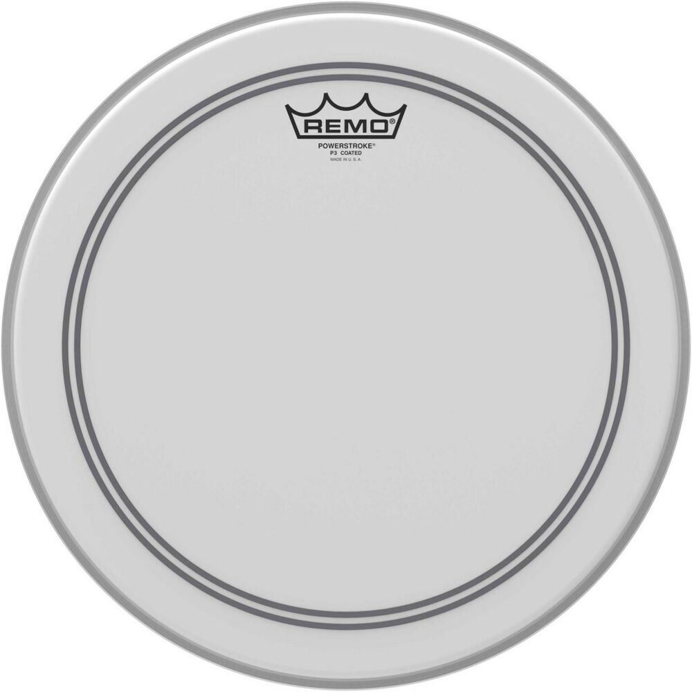 remo 14 powerstroke 3 coated tom or snare drum head skin p3 0114 bp ebay. Black Bedroom Furniture Sets. Home Design Ideas