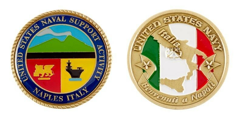 Naval Support Activity Naples Italy Flag 1 75 Quot Navy