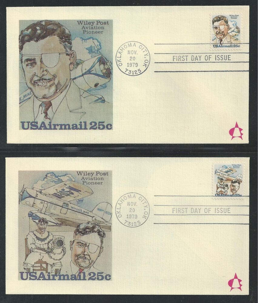 "# C95-96 WILEY POST, AVIATION PIONEER 1979 ""Andrews"