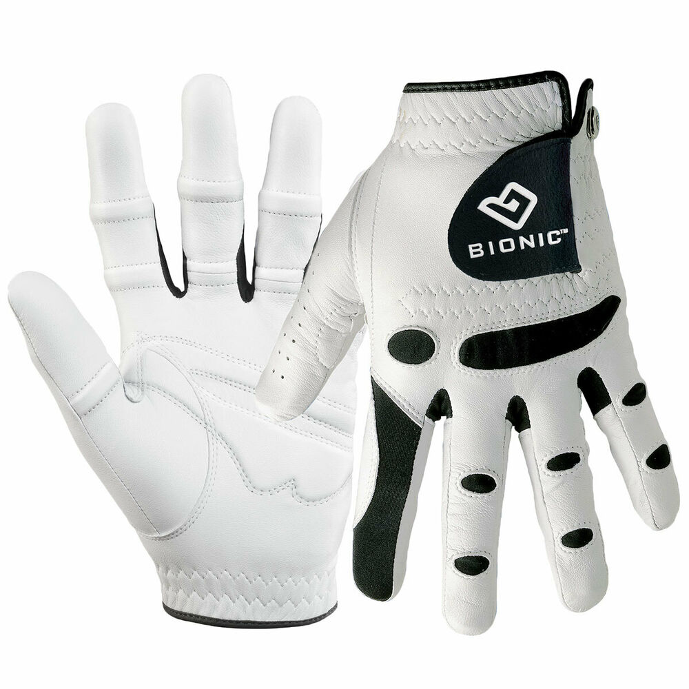 Bionic Mens Stablegrip Golf Glove Orthopedic Rh Left Handed Golfer Ebay