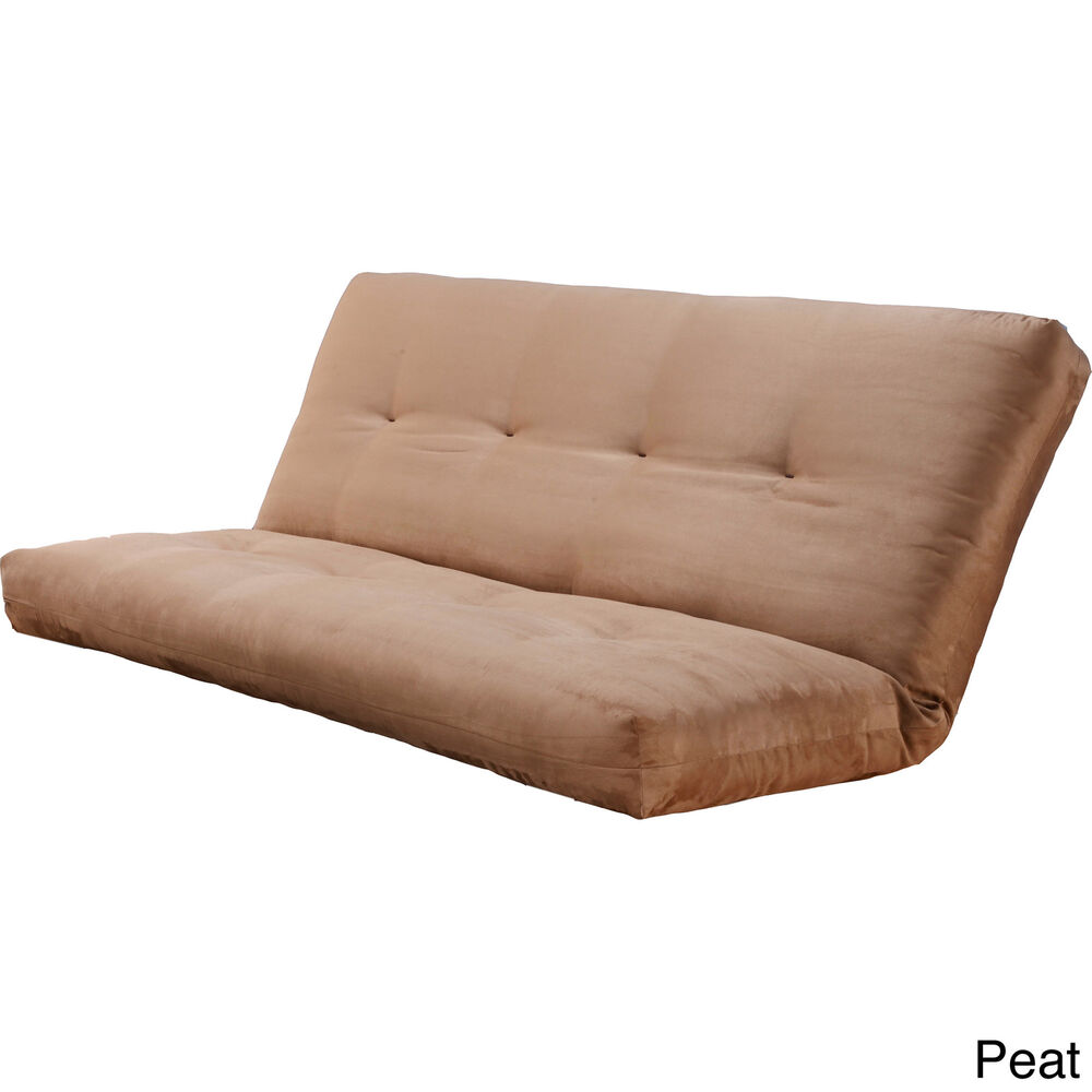 Somette Suedette Full size Solid Futon Cover