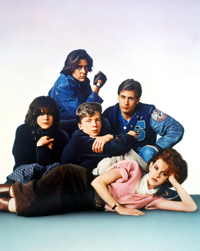 the breakfast club cast molly ringwald photo or poster ebay. Black Bedroom Furniture Sets. Home Design Ideas