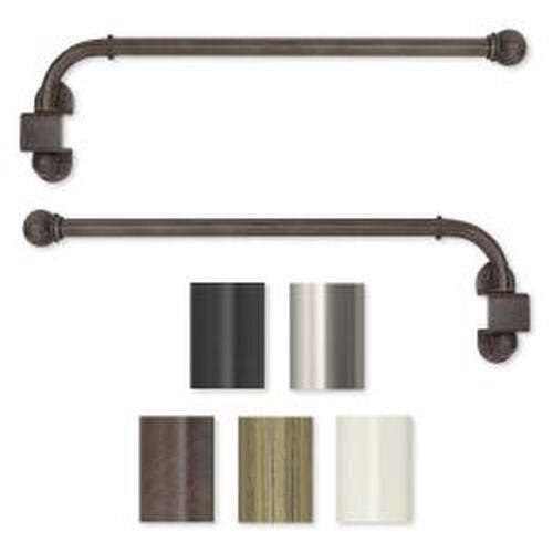 Swing Arm 24 to 38 inch Adjustable Curtain Rod | eBay