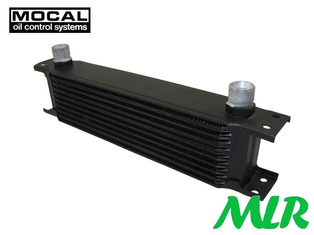Mocal Oil Cooler : Universal motorsport mocal row mm engine oil cooler