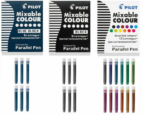 Pilot Parallel Pen Refill Ink Cartridges Calligraphy