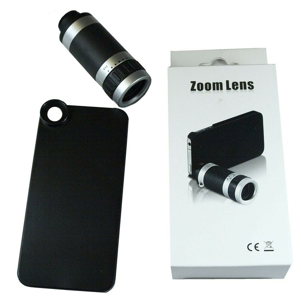 iphone lens case 8x zoom optical telescope lens with for apple 11988