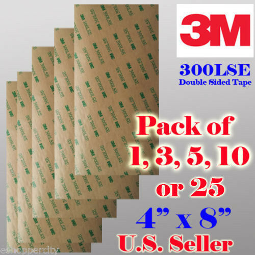 3m 300lse Double Sided Sticky Adhesive Sheet Transfer Tape