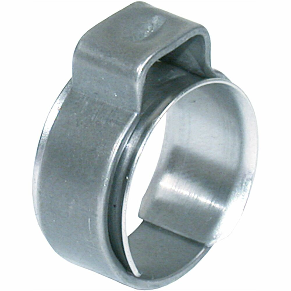Hose clamps tube clamp ear version with insert ring