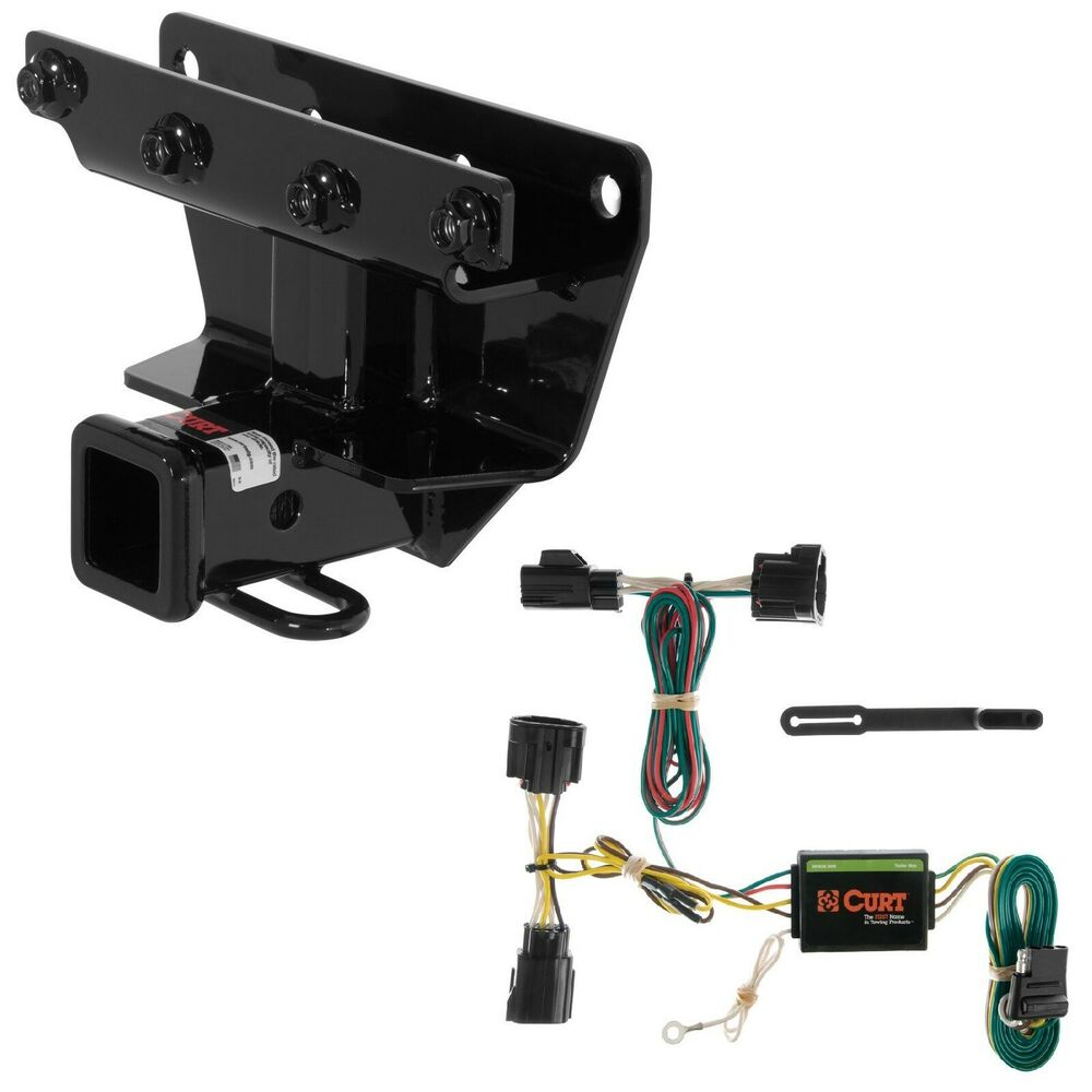 Curt class trailer hitch wiring kit for jeep commander