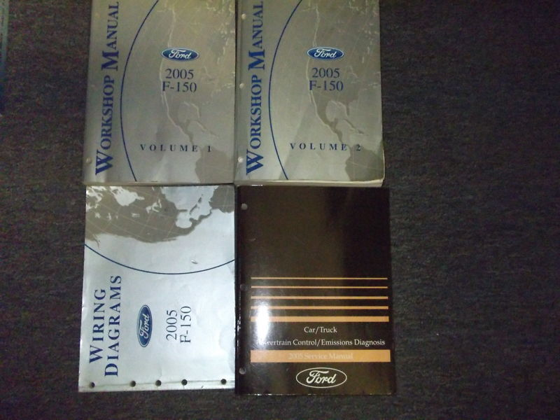 2005 ford f 150 f150 truck service repair shop manual set. Black Bedroom Furniture Sets. Home Design Ideas