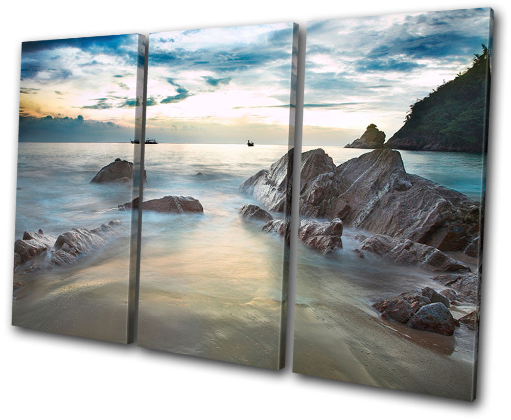 Wall Art Canvas Beach