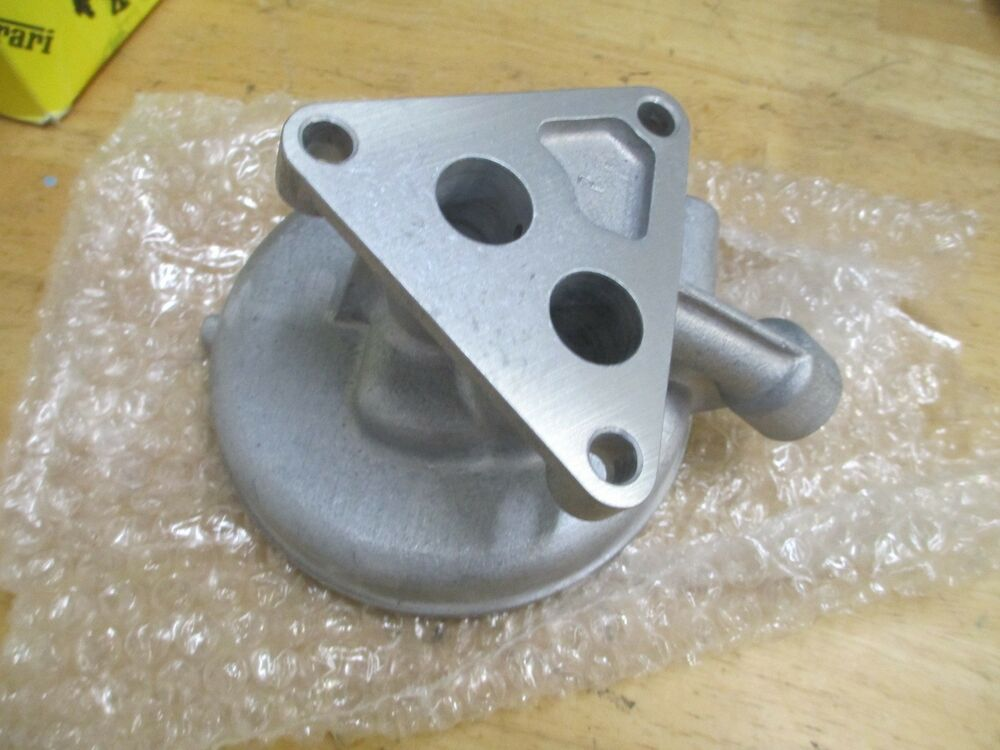 ferrari 355 oil filter base housing 157677 ebay. Black Bedroom Furniture Sets. Home Design Ideas