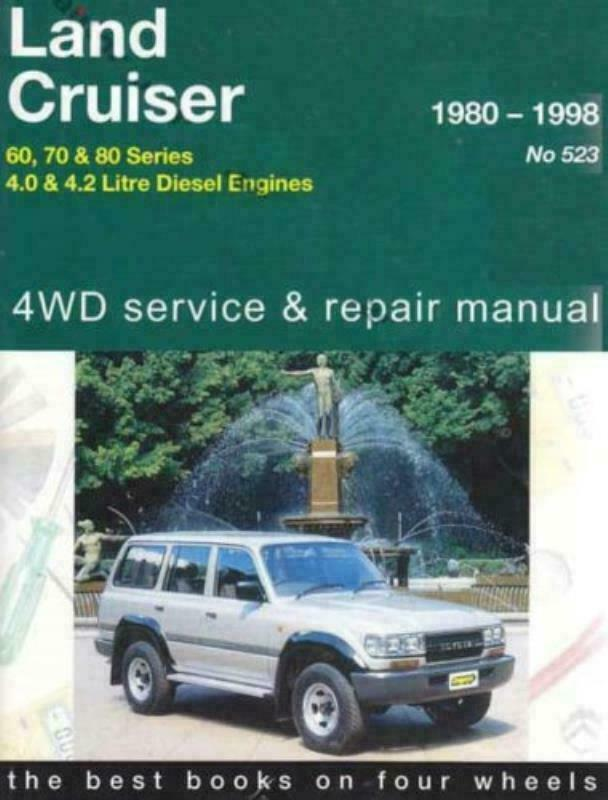 toyota landcruiser diesel 4wd gregorys workshop manual 2h 12h t 1hz rh ebay com au gregorys workshop manuals online gregorys workshop manuals online