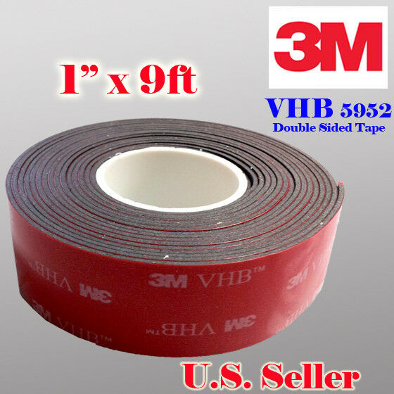 3m 1 Quot X 9 Ft Vhb Double Sided Foam Adhesive Tape 5952