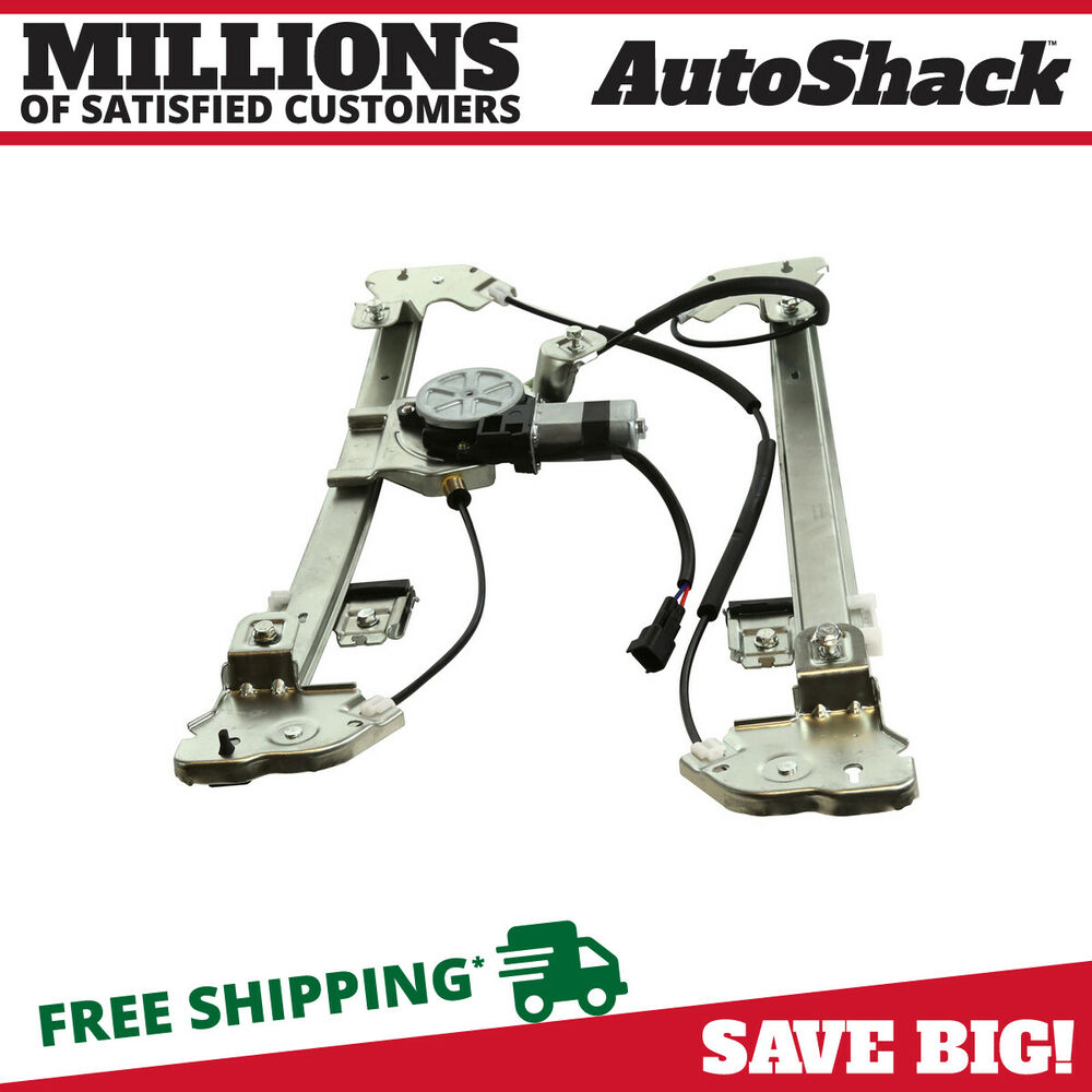new power window regulator w motor front right passenger