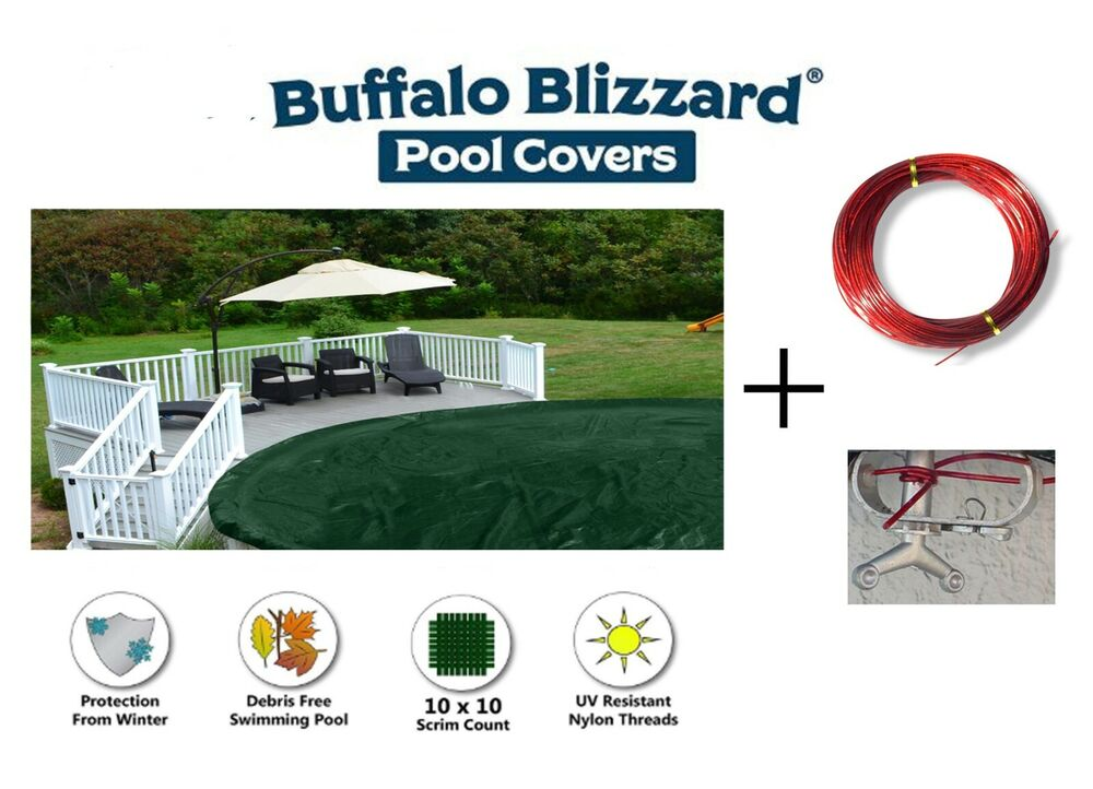 12 39 X18 39 Oval Supreme Above Ground Swimming Pool Winter Cover 12 Yr Limited Wty Ebay