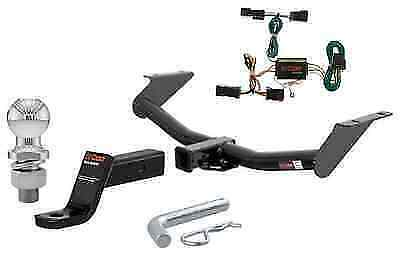 curt class 3 trailer hitch tow package for jeep liberty ebay. Black Bedroom Furniture Sets. Home Design Ideas