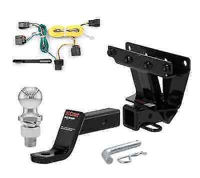 curt class 3 trailer hitch tow package for jeep grand cherokee ebay. Black Bedroom Furniture Sets. Home Design Ideas