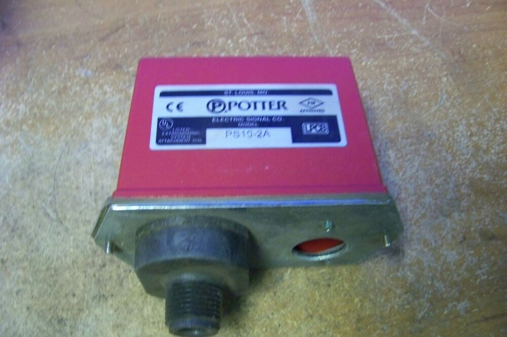 New Potter Ps10 2a Pressure Switch Spdt 15 Amp 125 250vac