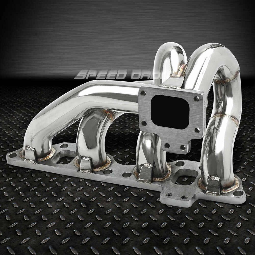 Sr20det Turbo: T25/T28 STAINLESS TURBO MANIFOLD EXHAUST FOR 89-98 240SX