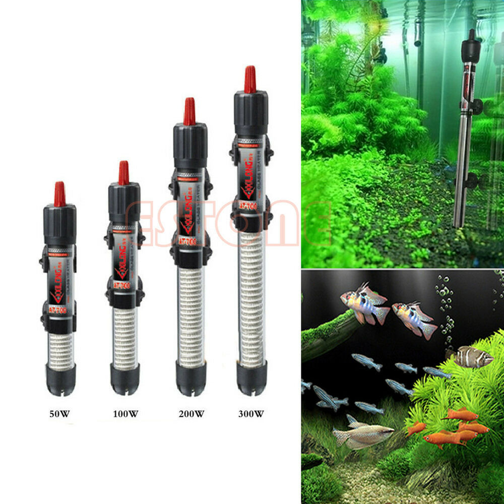 Submersible Water Vitreous Heater Heating Rod For Aquarium