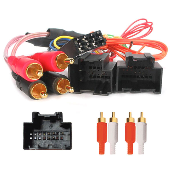 saab 93 95 amplified active system car stereo iso wiring harness lead ebay
