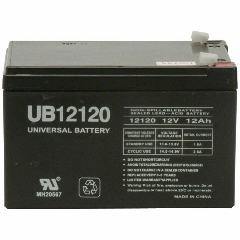Lead Acid Battery : Ub f d e v volt ah sla sealed lead