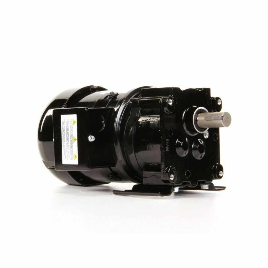 Dayton Model 4zj55 Gear Motor 155 Rpm 1 4 Hp 230 Volts