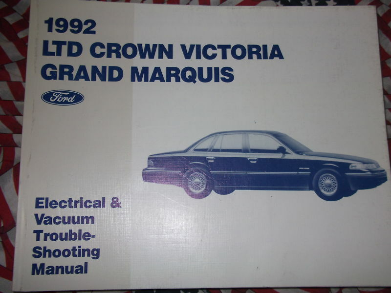 1992 Mercury Grand Marquis  U0026 Ford Crown Victoria