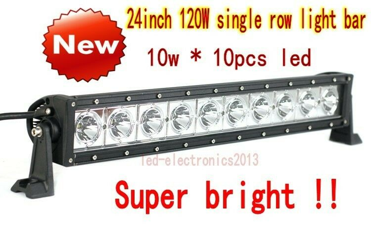 24 inch 100W Curved CREE single row led light bar of off ...