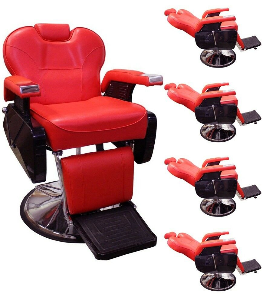 Lot5 all purpose hydraulic recline barber chair salon beauty equipment wholesale ebay - Wholesale hair salon equipment ...