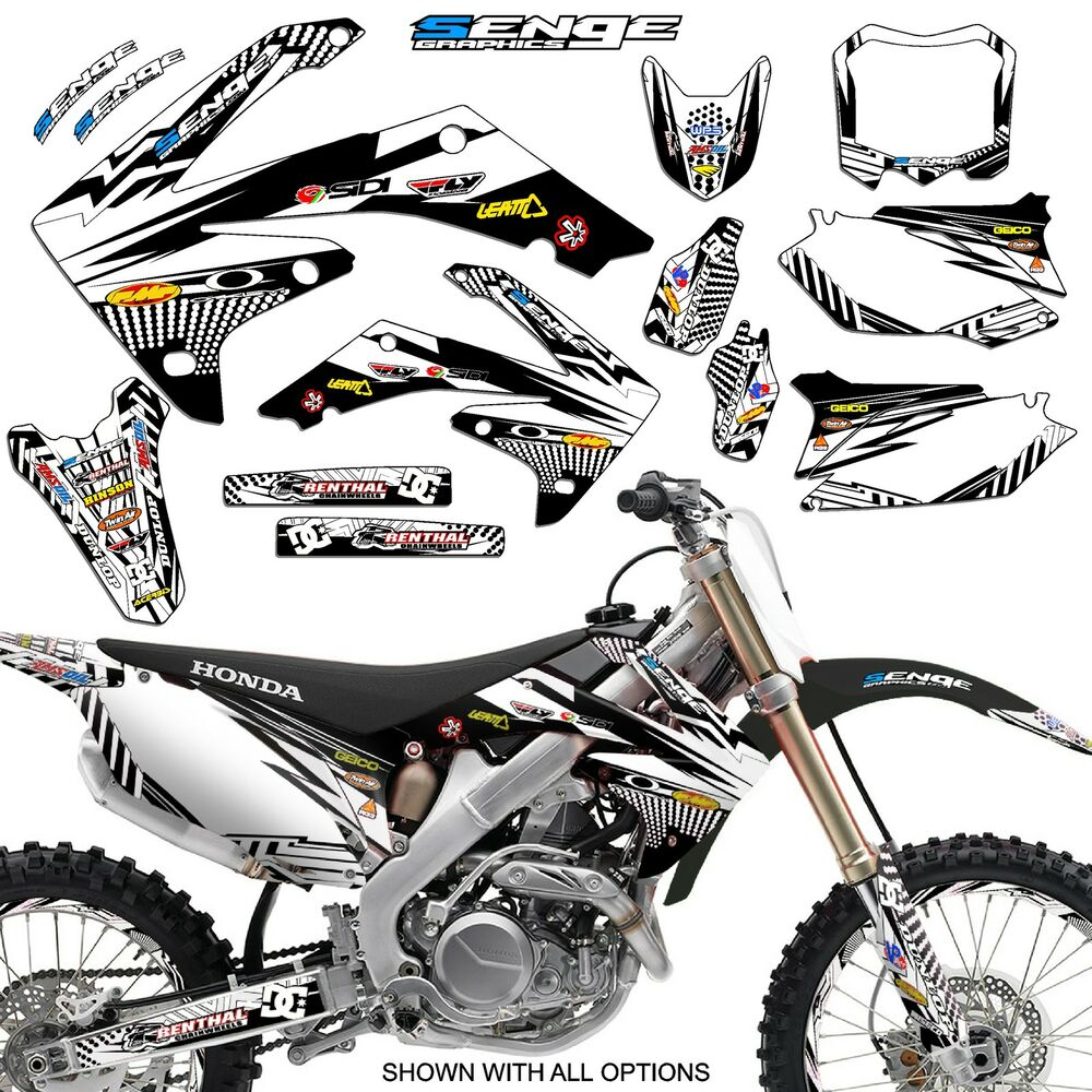 2005 2006 2007 crf 450r graphics kit crf450r 450 r deco for Stickers deco