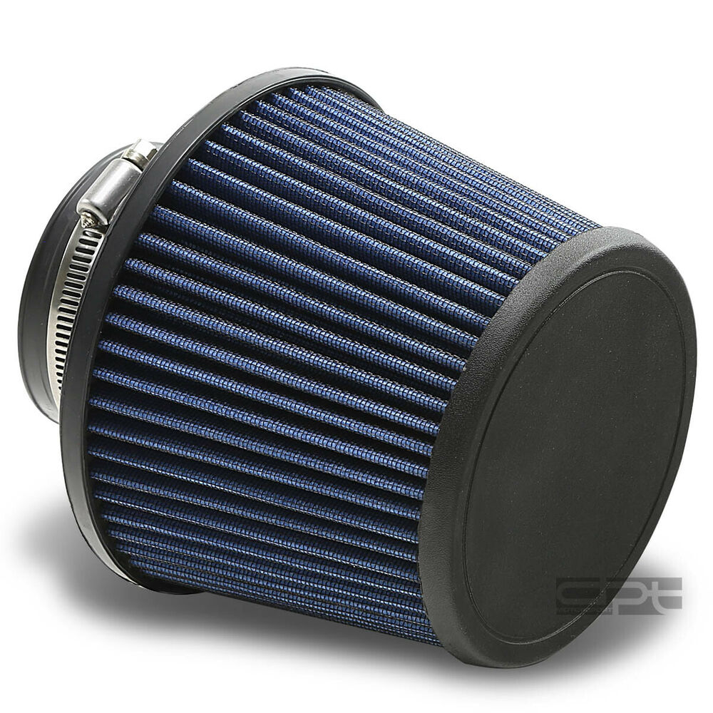 3 Quot 6 Quot W Cold Short Ram Intake Universal Round Cone Washable