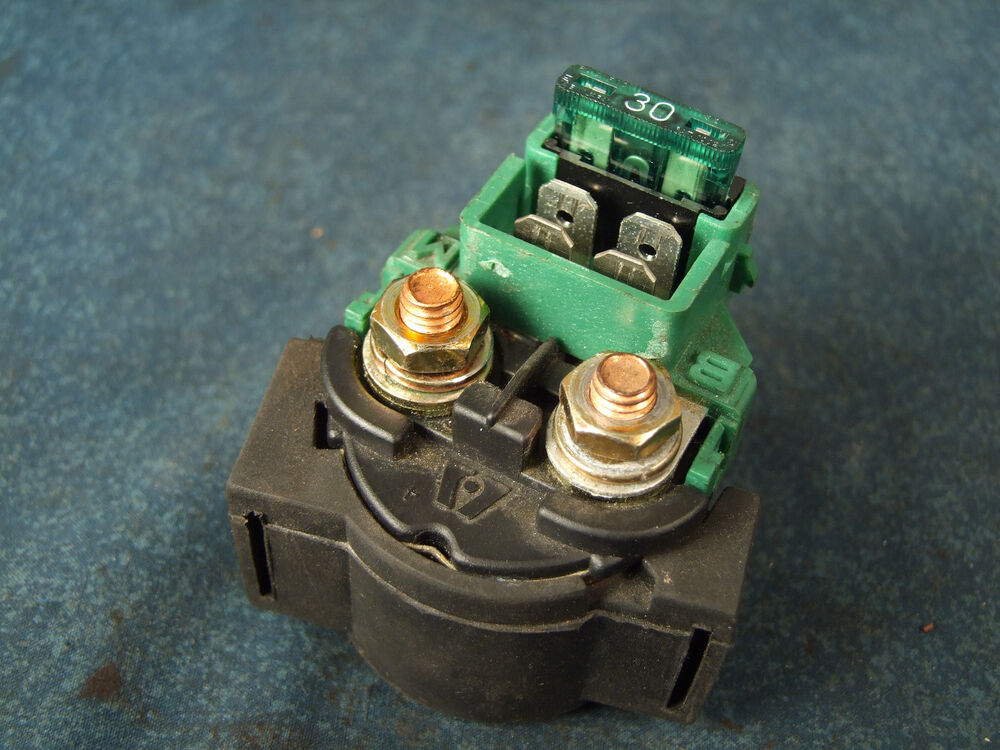 Starter Siolenoid Switch  U0026 Fuse Assy 2001 Honda Shadow