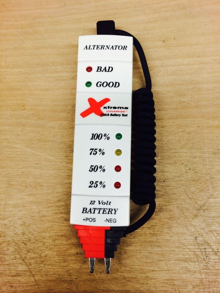 12 Volt Battery Tester Review : Quick battery tester volt pulsetech xtreme charge