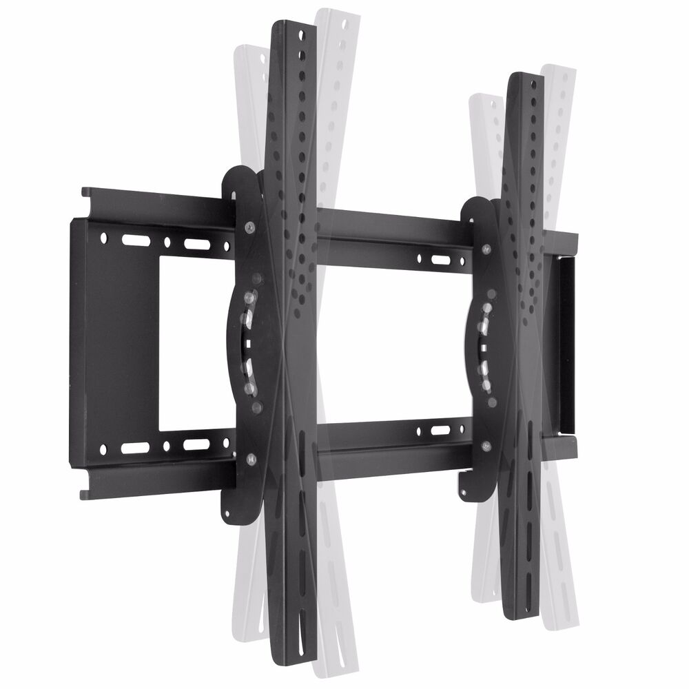tv wall mount tilt flat screen plasma led lcd bracket for 40 to 65 vesa 600x400 ebay. Black Bedroom Furniture Sets. Home Design Ideas