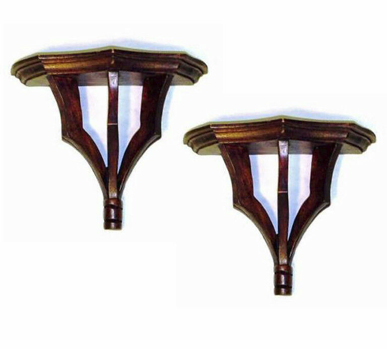 Wall Shelves Oak Park Decorative Wall Bracket Pair
