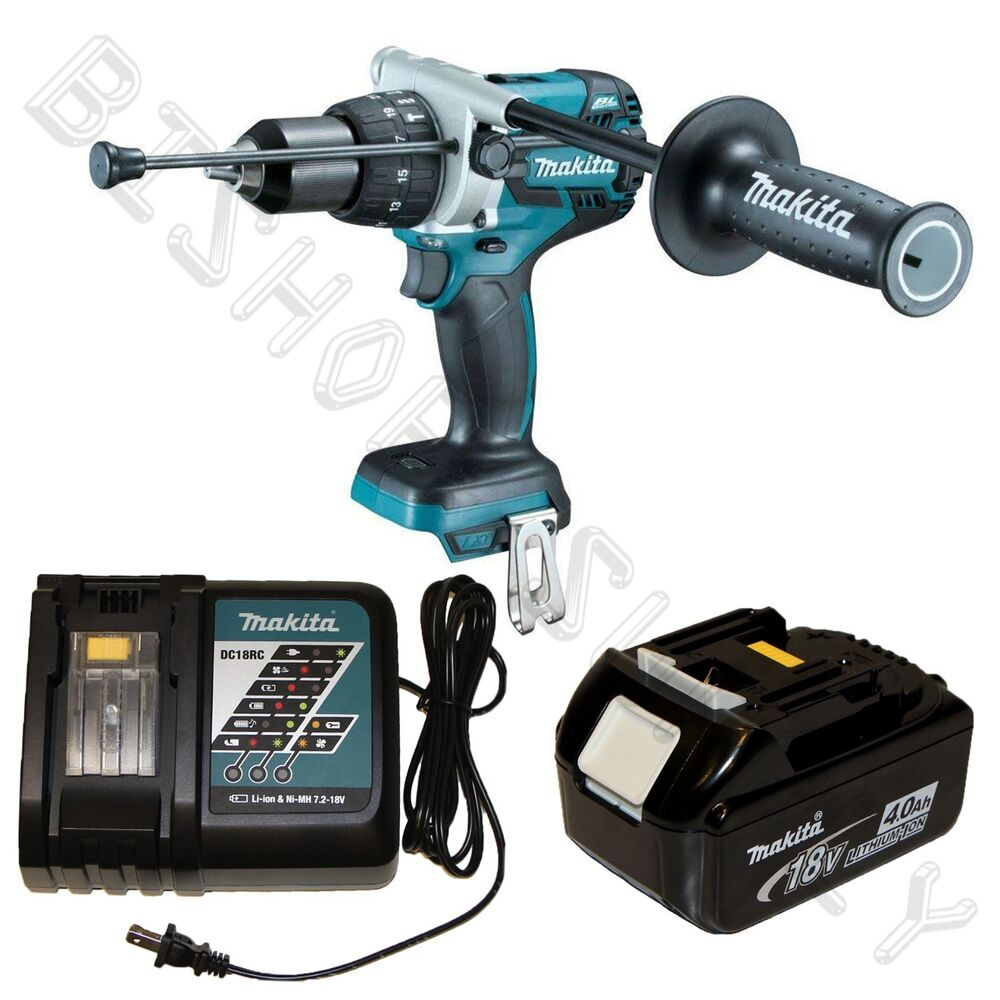 makita xph07z lxt 18v brushless 1 2 hammer drill kit with bl1840 dc18rc new 88381670975 ebay. Black Bedroom Furniture Sets. Home Design Ideas